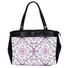 Geometric Pattern Nature Print  Office Handbags (2 Sides)  by dflcprints