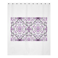 Geometric Pattern Nature Print  Shower Curtain 60  X 72  (medium)  by dflcprints