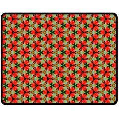 Lovely Trendy Pattern Background Pattern Double Sided Fleece Blanket (medium)  by creativemom