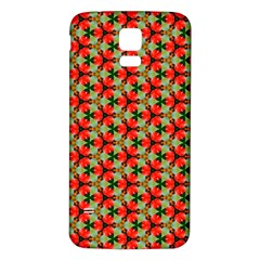 Lovely Trendy Pattern Background Pattern Samsung Galaxy S5 Back Case (white) by creativemom