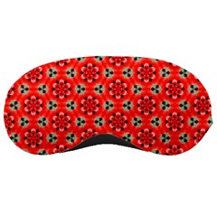 Lovely Orange Trendy Pattern  Sleeping Masks by creativemom