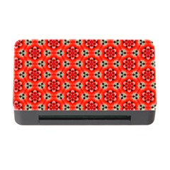 Lovely Orange Trendy Pattern  Memory Card Reader With Cf by creativemom