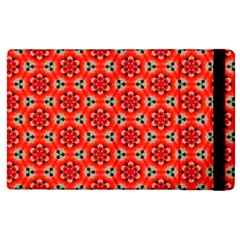 Lovely Orange Trendy Pattern  Apple Ipad 2 Flip Case by creativemom