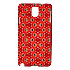 Lovely Orange Trendy Pattern  Samsung Galaxy Note 3 N9005 Hardshell Case by creativemom