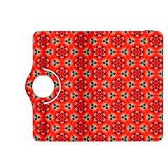 Lovely Orange Trendy Pattern  Kindle Fire Hdx 8 9  Flip 360 Case by creativemom