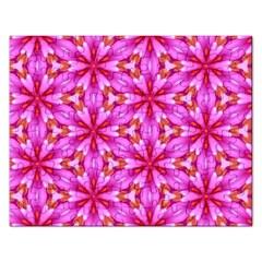 Cute Pretty Elegant Pattern Rectangular Jigsaw Puzzl by creativemom