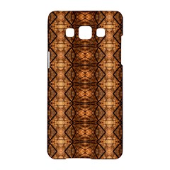 Faux Animal Print Pattern Samsung Galaxy A5 Hardshell Case  by creativemom