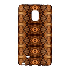 Faux Animal Print Pattern Galaxy Note Edge by creativemom