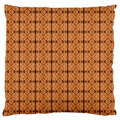 Faux Animal Print Pattern Large Flano Cushion Cases (two Sides)  by creativemom