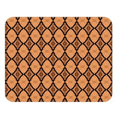 Faux Animal Print Pattern Double Sided Flano Blanket (Large)