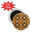 Faux Animal Print Pattern 1.75  Magnets (100 pack)