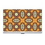 Faux Animal Print Pattern Business Card Holders