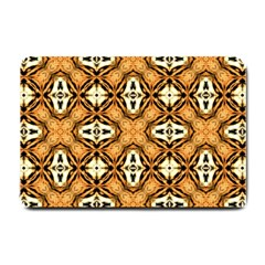 Faux Animal Print Pattern Small Doormat