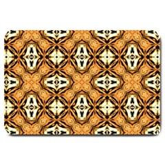 Faux Animal Print Pattern Large Doormat