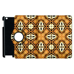 Faux Animal Print Pattern Apple Ipad 2 Flip 360 Case