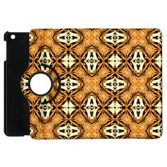 Faux Animal Print Pattern Apple Ipad Mini Flip 360 Case