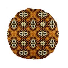 Faux Animal Print Pattern Standard 15  Premium Round Cushions