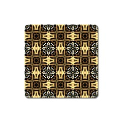 Faux Animal Print Pattern Square Magnet by creativemom