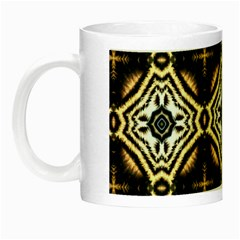 Faux Animal Print Pattern Night Luminous Mugs by creativemom