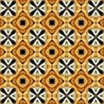 Faux Animal Print Pattern Storage Stool 12   Top