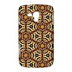Faux Animal Print Pattern Samsung Galaxy Duos I8262 Hardshell Case  by creativemom