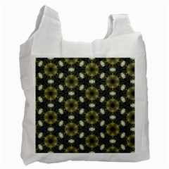 Faux Animal Print Pattern Recycle Bag (Two Side)  by creativemom