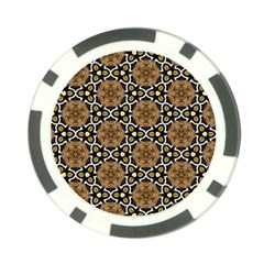 Faux Animal Print Pattern Poker Chip Card Guards (10 pack)  by creativemom