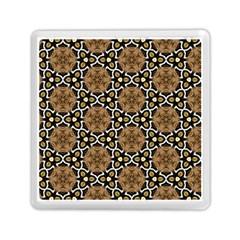 Faux Animal Print Pattern Memory Card Reader (square)