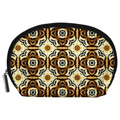Faux Animal Print Pattern Accessory Pouches (large)  by creativemom