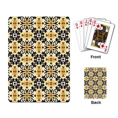 Faux Animal Print Pattern Playing Card by creativemom