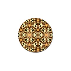 Faux Animal Print Pattern Golf Ball Marker (4 Pack) by creativemom