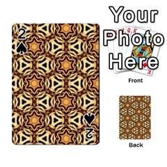 Faux Animal Print Pattern Playing Cards 54 Designs
