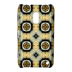 Faux Animal Print Pattern Nokia Lumia 620 by creativemom