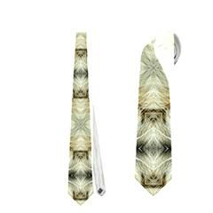 Faux Animal Print Pattern Neckties (two Side)