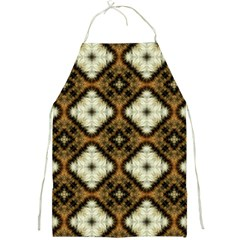 Faux Animal Print Pattern Full Print Aprons by creativemom