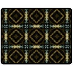 Faux Animal Print Pattern Fleece Blanket (Medium)