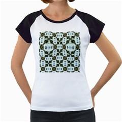 Faux Animal Print Pattern Women s Cap Sleeve T by creativemom
