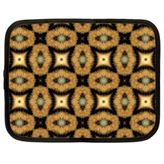 Faux Animal Print Pattern Netbook Case (xxl)  by creativemom