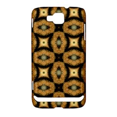 Faux Animal Print Pattern Samsung Ativ S i8750 Hardshell Case by creativemom