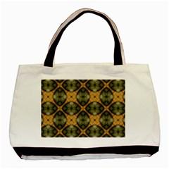 Faux Animal Print Pattern Basic Tote Bag  by creativemom
