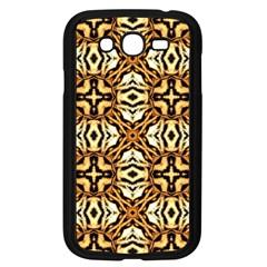 Faux Animal Print Pattern Samsung Galaxy Grand Duos I9082 Case (black) by creativemom