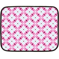 Cute Pretty Elegant Pattern Double Sided Fleece Blanket (mini)  by creativemom