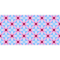 Cute Pretty Elegant Pattern YOU ARE INVITED 3D Greeting Card (8x4)  by creativemom