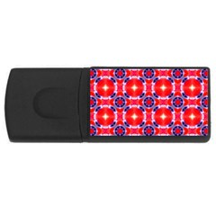 Cute Pretty Elegant Pattern USB Flash Drive Rectangular (1 GB)  by creativemom