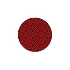 Cute Pretty Elegant Pattern Golf Ball Marker by creativemom