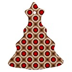 Cute Pretty Elegant Pattern Ornament (Christmas Tree) Front