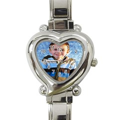 Jewelry & Watches(42) Heart Italian Charm Watch by nick562