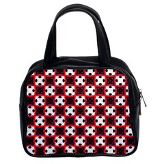 Cute Pretty Elegant Pattern Classic Handbags (2 Sides) by creativemom