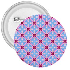 Cute Pretty Elegant Pattern 3  Buttons