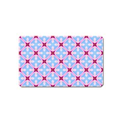 Cute Pretty Elegant Pattern Magnet (name Card)
